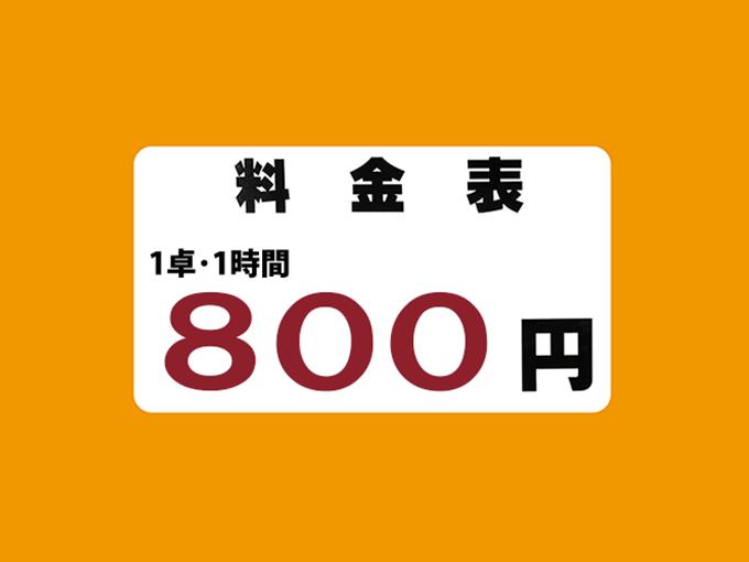 梅田店料金システム